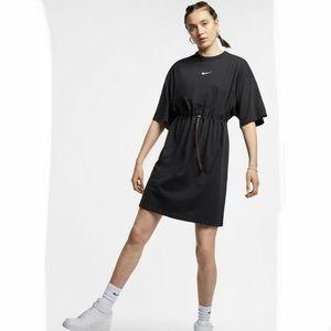 Nike lab collection drawstring tee dress